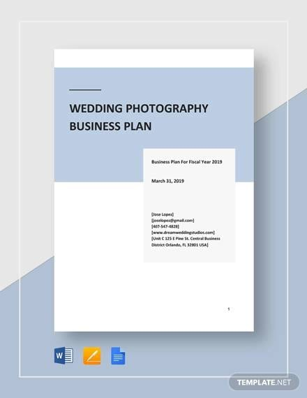 wedding photography for Photography Business Plans