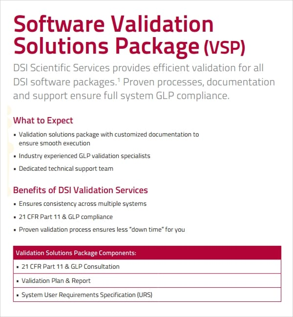 Software Validation Plan Template for Validation Plan Template