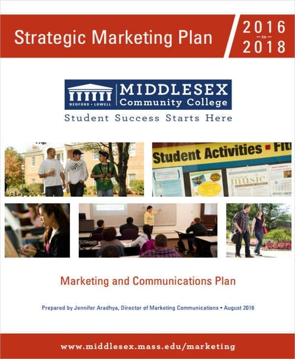 Strategic Marketing Plan3 for Plan Templates
