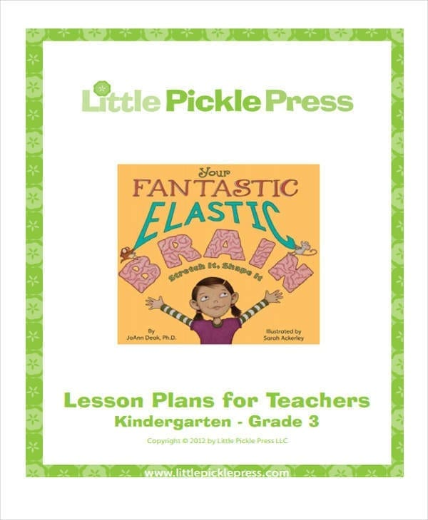 Teacher Lesson Plan3 for Lesson Plan Sample
