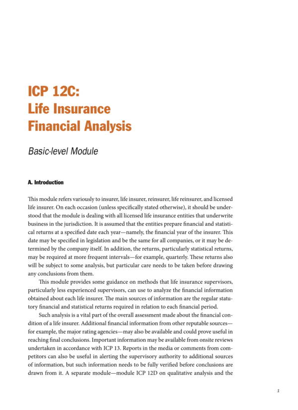 Insurance Company Financial Analysis 13 for Company Financial Analysis Template Pdf Excel