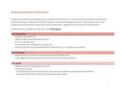 Sample Policy Analysis Toolkit and Template 08 for Policy Analysis Template