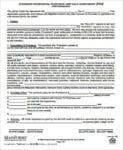Residential Purchase And Sales Agreement For Purchase And Sales Agreement