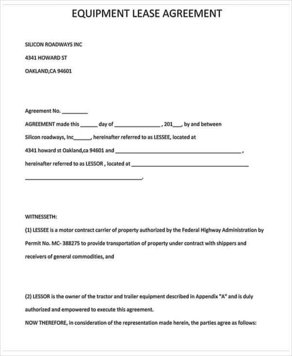 Truck Driver Lease Agreement3