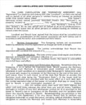 Commercial Lease Termination Agreement Doc For Commercial Lease Agreement In Word