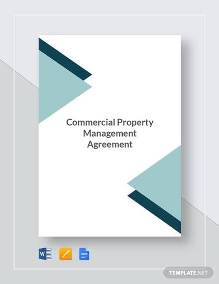 Commercial Property Management Agreement Template1 For Construction Management Agreement