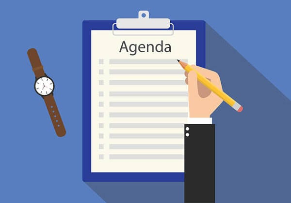53 Sample Agendas PDF Word For Sample Agendas