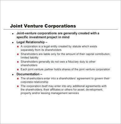 Joint Venture Partnership Agreement For Real Estate Partnership Agreement Templates Pdf