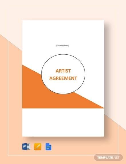Artist Consignment Agreement Template For Consignment Agreement Examples And Templates