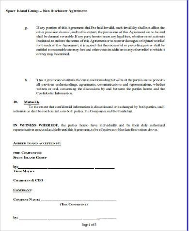 Business Partner Non Compete Agreement For Business Non Compete Agreement