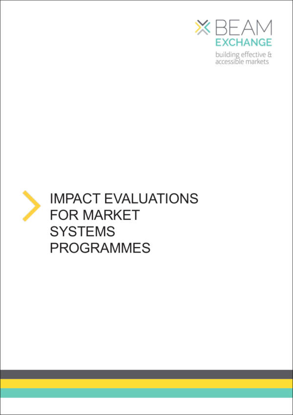 Impact Evaluation for Market Systems Programmes for Marketing Campaign Evaluation Samples