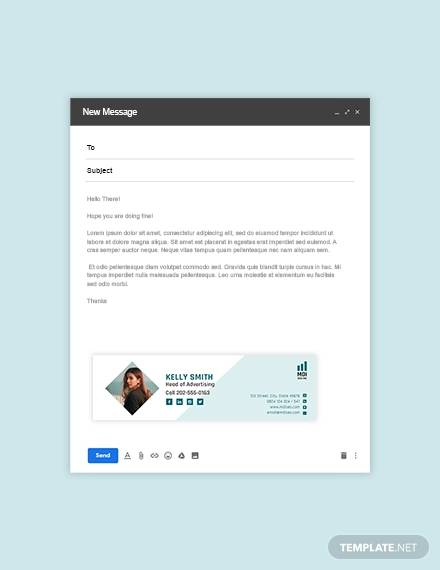 SEO Email Signature for Email Signature Example