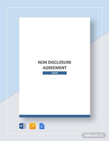 Non Disclosure Agreement1 For Non Disclosure Agreement Between Companies
