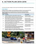 Pedestrian Safety Action Plan For Action Plan Format