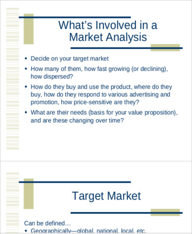 Market Trend Analysis Sample for trend analysis