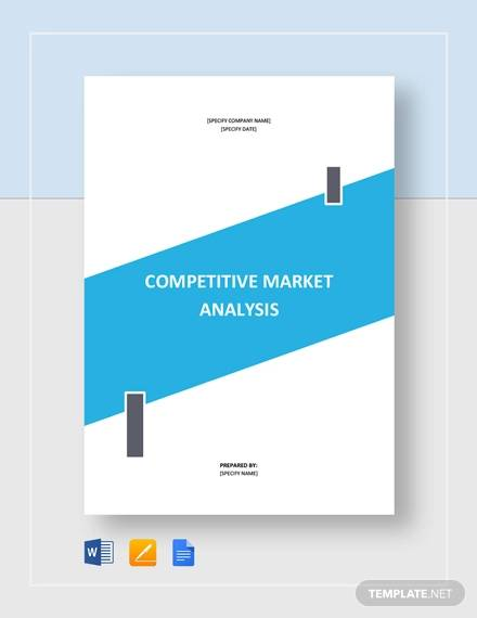 Competitive Market Analysis Template for sample competitive analysis