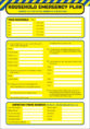 Household Emergerncy Checklist Template For Checklist Templates In Pdf