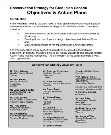 Smart Objectives Action Plan for Sample Smart Action Plan