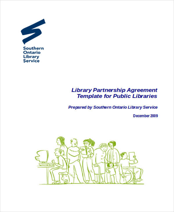Library Partnership Agreement for Agreement In Word